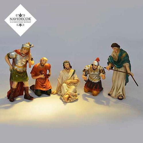 Jesús con soldados