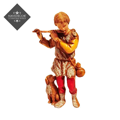 Flautista para pesebre