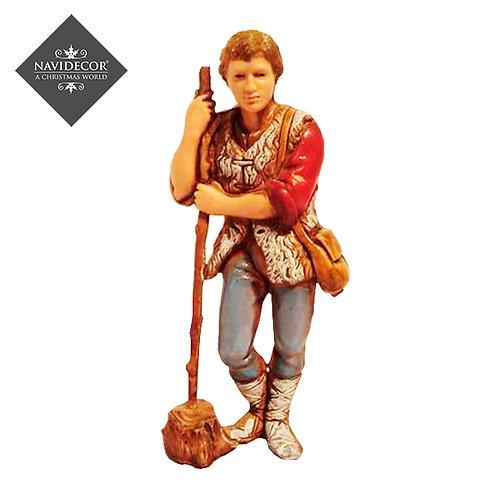 Campesino con bastón