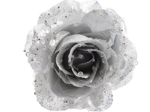 Rosa plateada