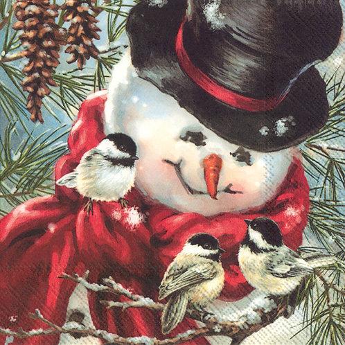 Freddy, the snowman