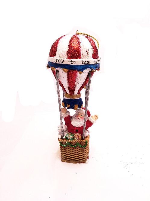 Papa Noel en globo
