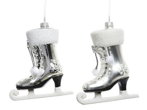 Pack 2 botas de patinaje de cristal