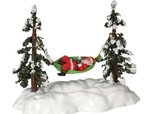 Santa en la hamaca