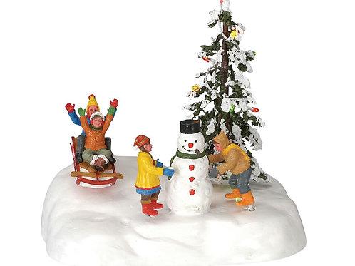 Fiesta en la nieve