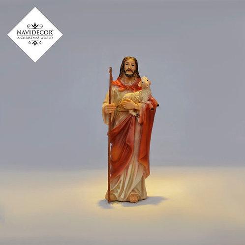 Jesús con oveja
