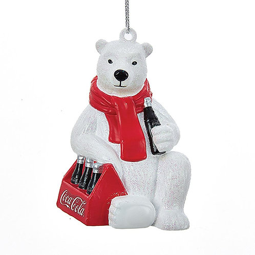 Oso polar con pack Coca-Cola