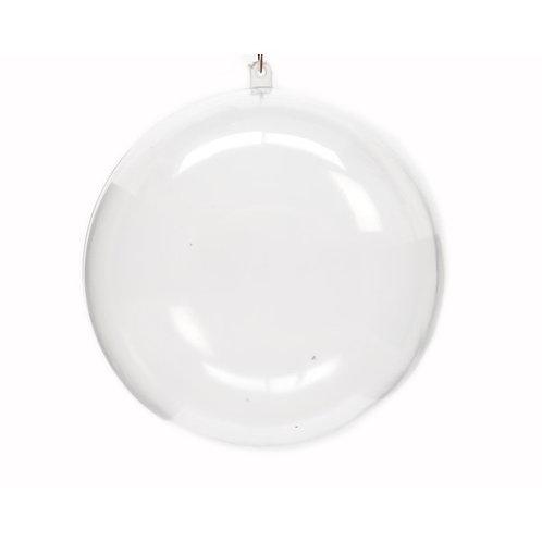 Bola cristal transparente 8 cm