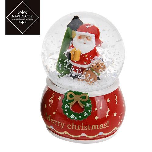 Bola de nieve Merry Papa Noel