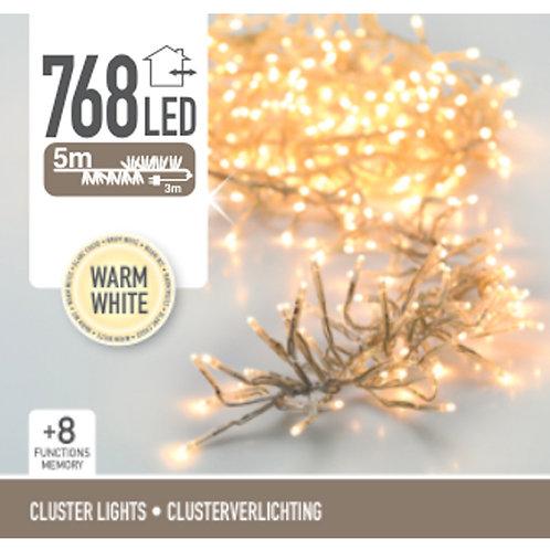 Cluster 768 Leds transparente