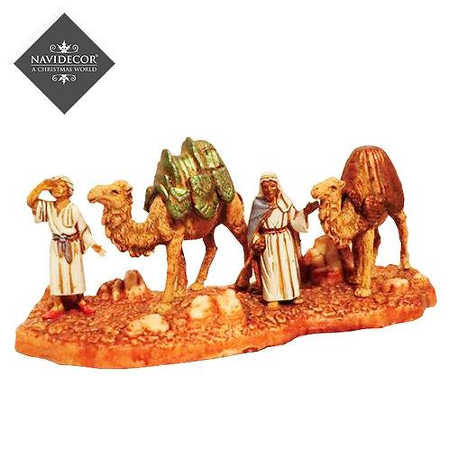 Pastores con camellos