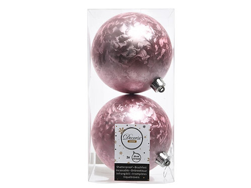 Pack 2 bolas ice lack blush pink