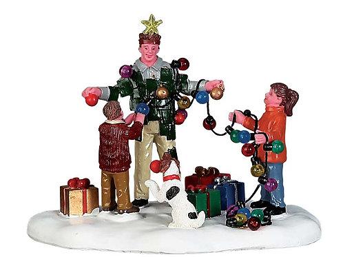 Papa árbol de navidad