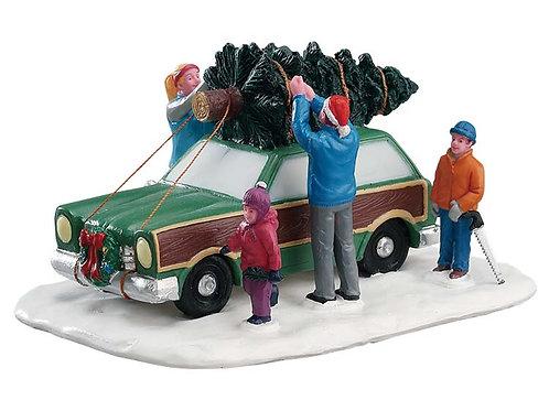Transportando el árbol