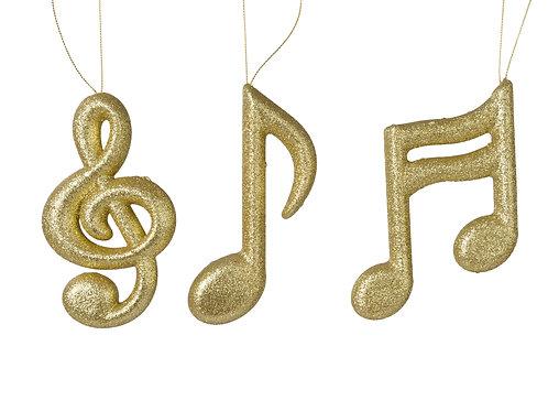 NOTAS MUSICALES DE FOAM C/PURPURINA