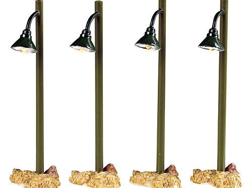 Rustic street lamp