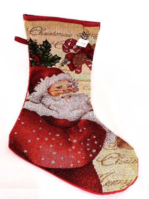 Bota classic Papa Noel
