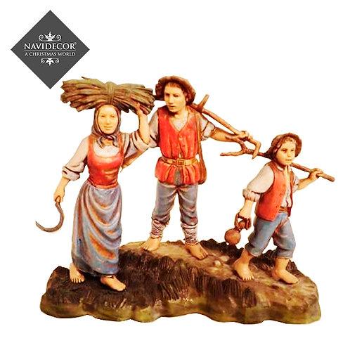 Familia de campesinos