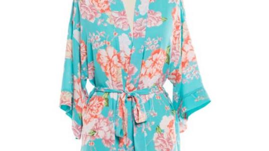 Turquoise Robe