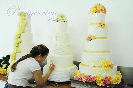 Partytorten Hochzeitstorte