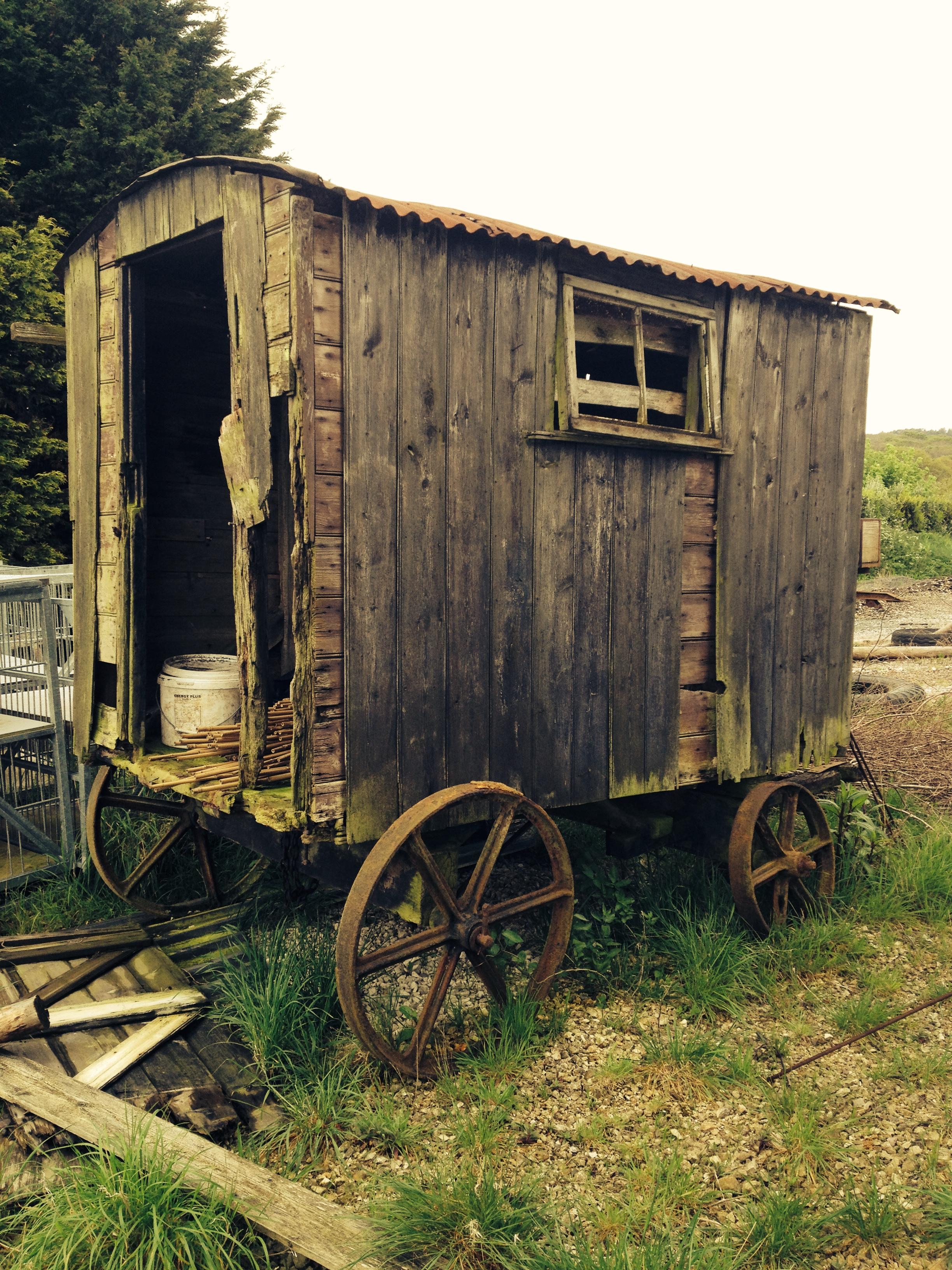 Original shepherd hut