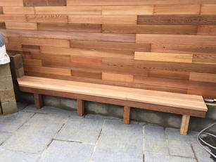 western red cedar fencing and bench.jpg