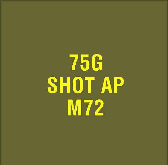 US 75mm M72 AP  Stencil