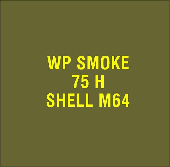 US 75mm M64 Smoke  Stencil