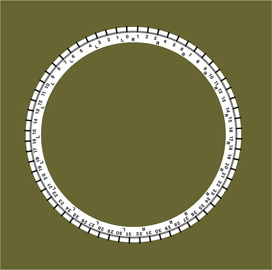 US FORD M8 TURRET RING STENCIL