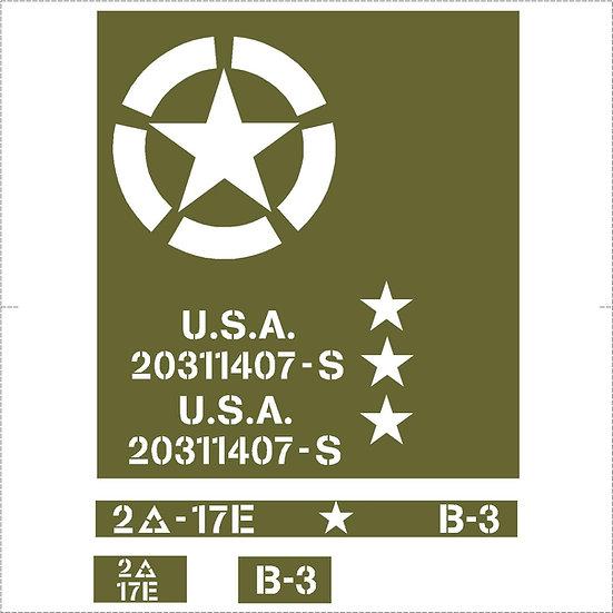 US JEEP KIT (GPW / MB / M201)