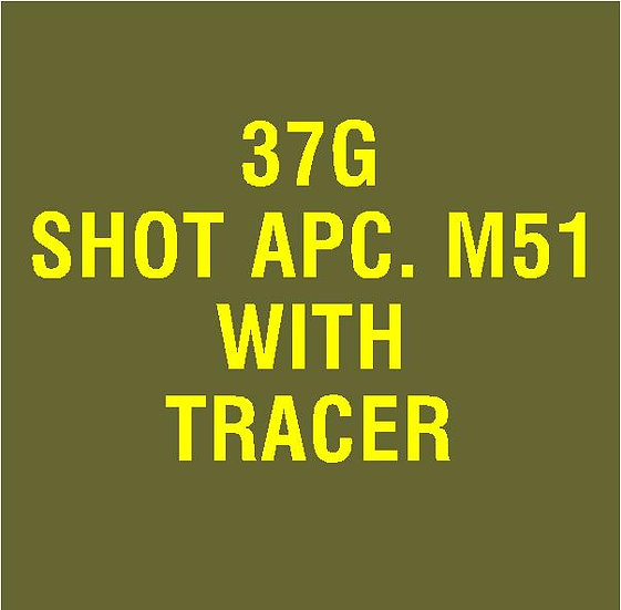 US 37mm M51 APC with Tracer Stencil