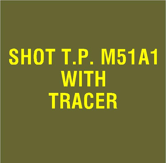 US 37mm M51A1 With Tracer Stencil