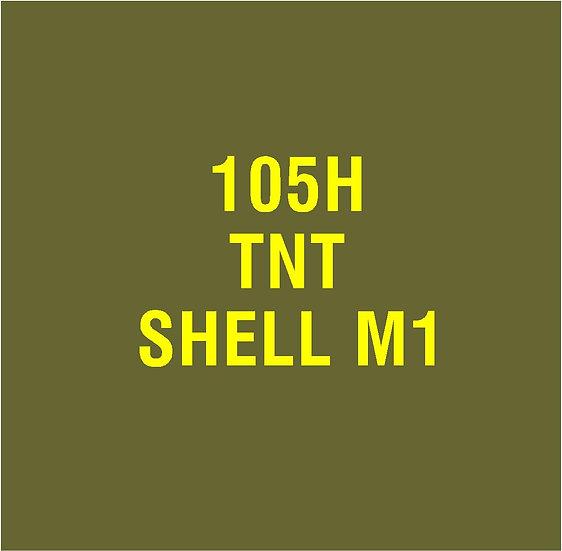 US 105mm M1  Stencil