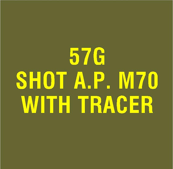 US 57mm M70 AP Stencil