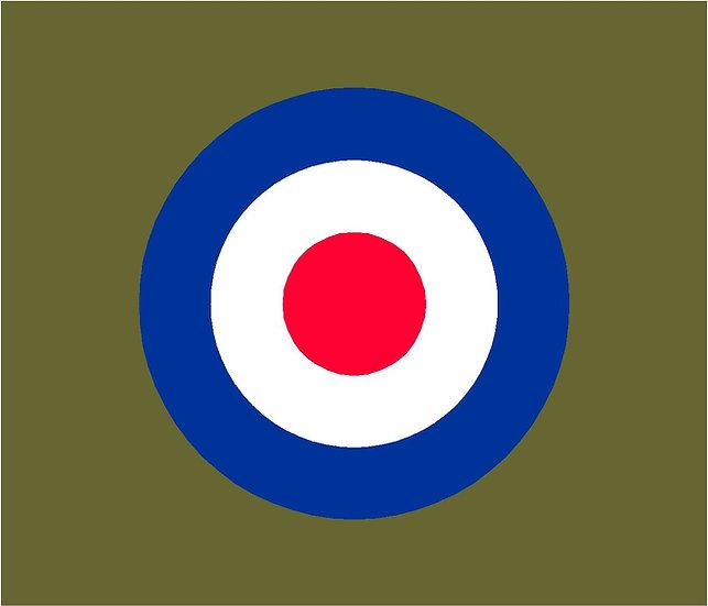 RAF ROUNDEL TYPE D