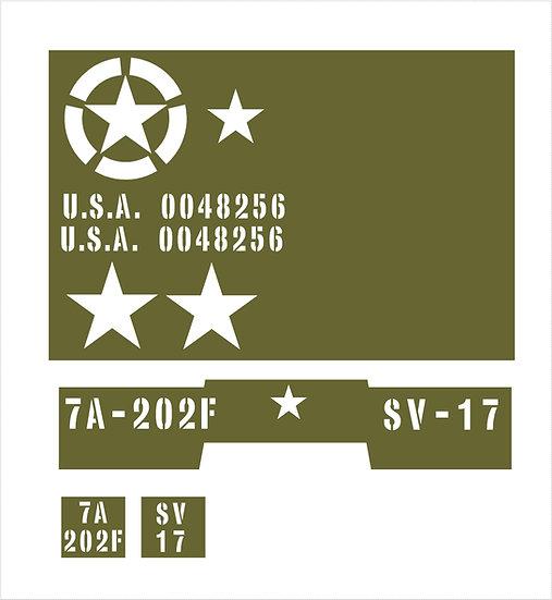 US DIAMOND T 969 KIT