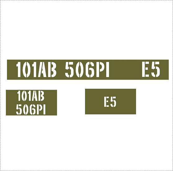 SET OF US UNIT MARKINGS KIT
