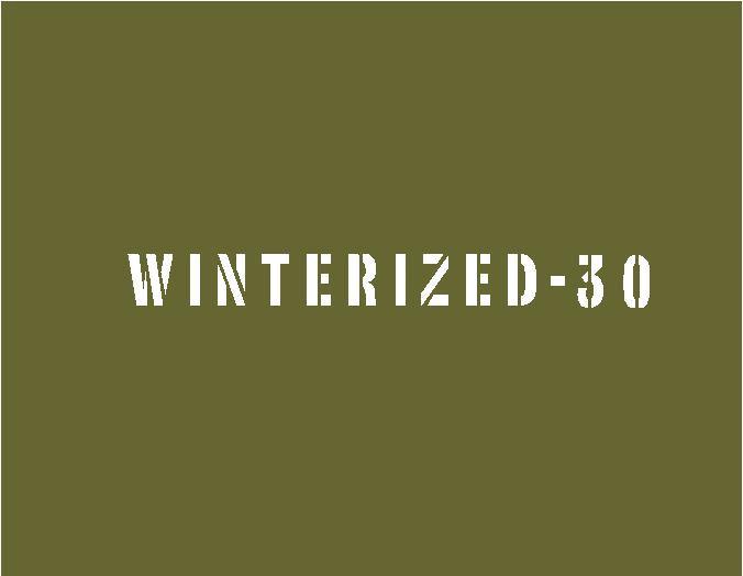 WINTERIZED