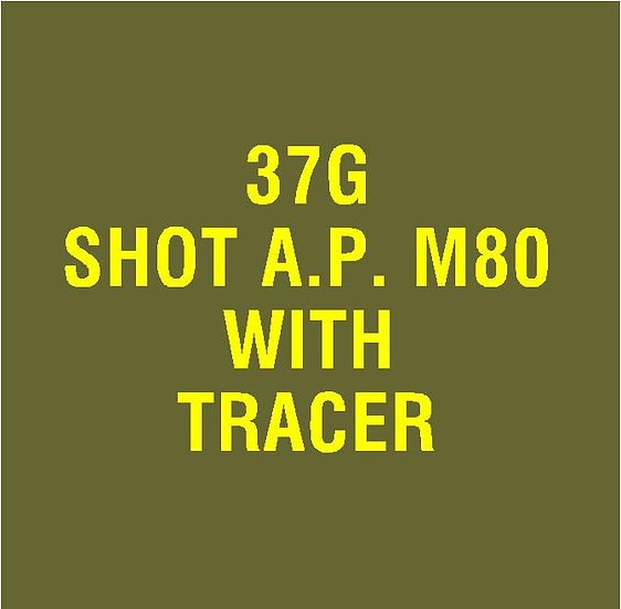 US 37mm M80 AP with Tracer Stencil