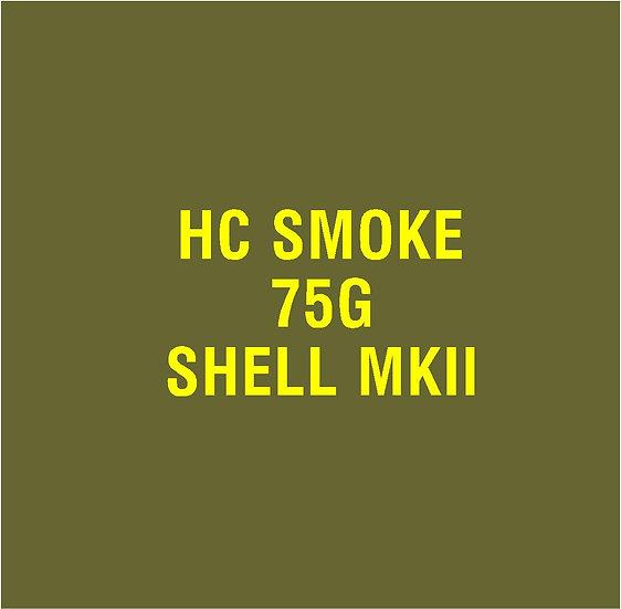 US 75mm MKII Smoke  Stencil