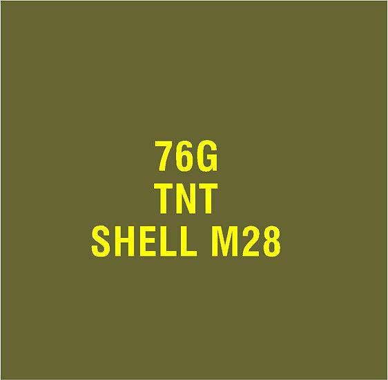 US 76mm M28  Stencil