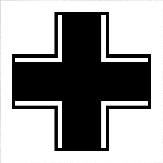 German BALKENKREUZ Cross