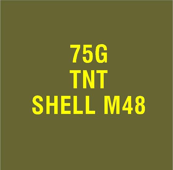 US 75mm M48  Stencil
