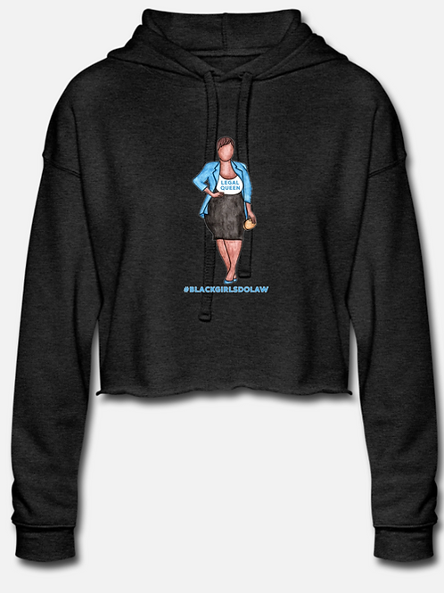 Legal Queen Cropped Hoodie