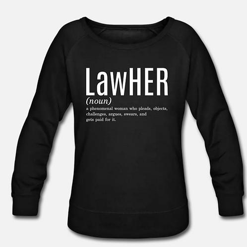 LawHER Crewneck Sweatshirt