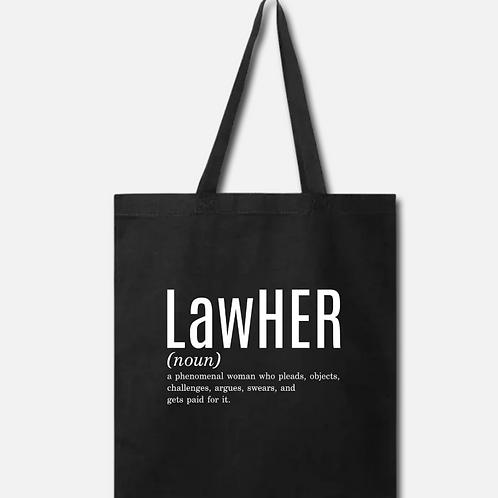 LawHER Cotton Tote