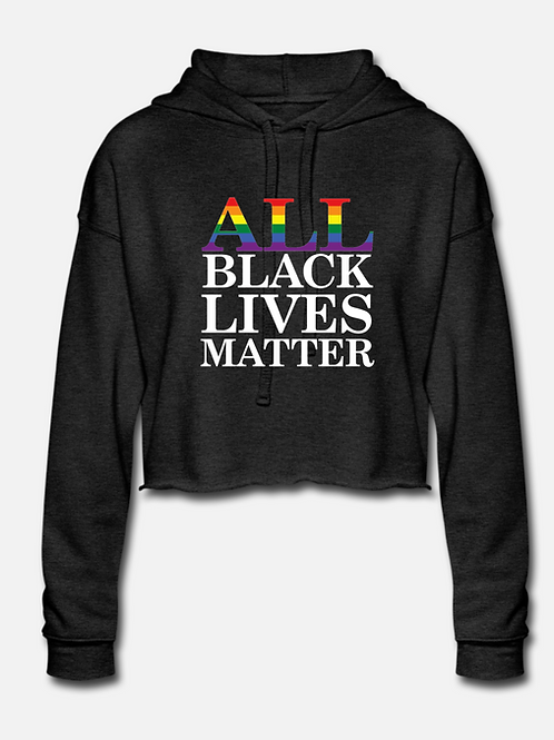 ALL BLM Cropped Hoodie