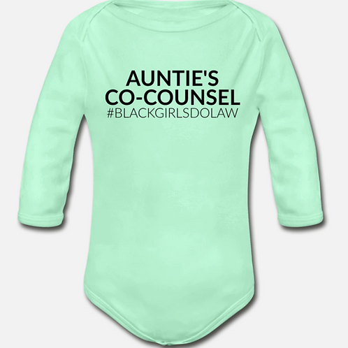Co-Counsel Long Sleeve Onesie