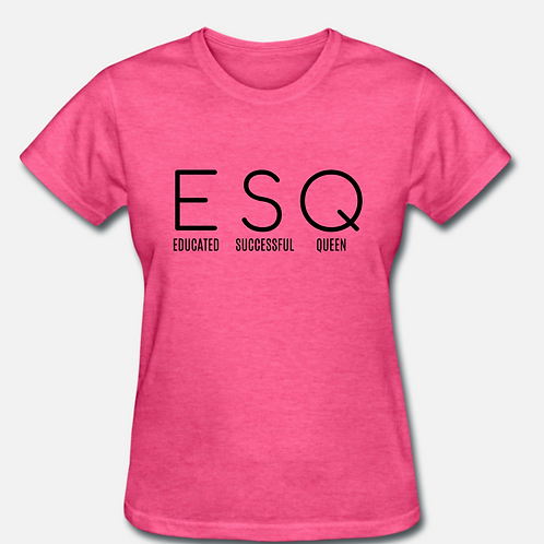 IN STOCK/ON SALE (1) LARGE ESQ T-shirt