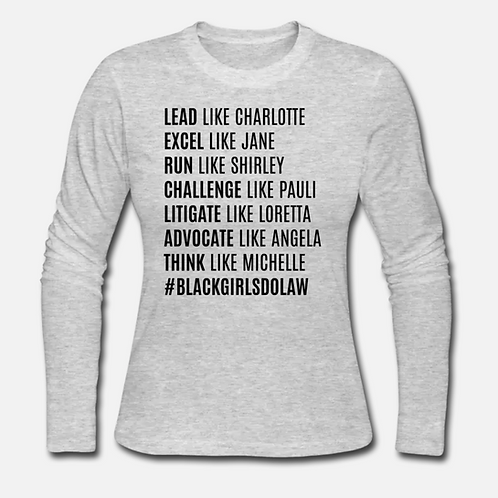 BGDL HERstory Long Sleeve Shirt
